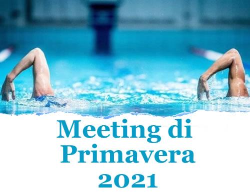Meeting di Primavera 2021: Risultati  Master della Rari Nantes Cagliari