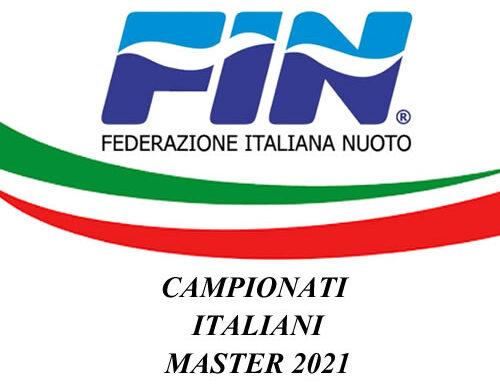 Campionati Italiani Master 2021: La Rari Nantes Cagliari sul podio
