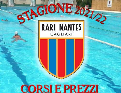 Rari Nantes Cagliari Stagione 2021/22: corsi e prezzi
